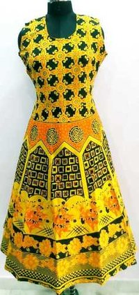 Ladies Jaipuri One Piece Dress
