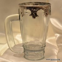Glass Jug Water Pitcher decorative Lemon Setes