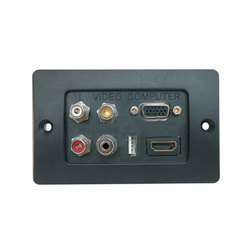 Audio Video Face Plate