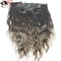 Clip In Virgin Human Hair Extension