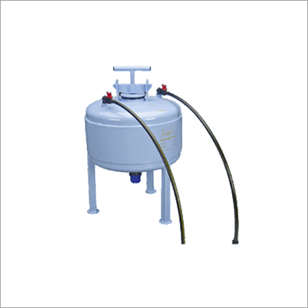 Silver Fertilizer Tank