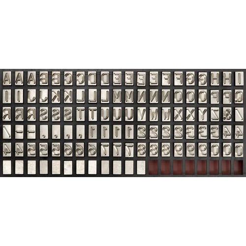 Interchangeable Steel Type Letter Punch