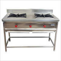 Commercial Two Burner Gas Stove