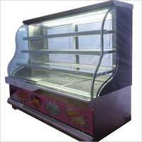 Transparent Glass Cake Display Counter