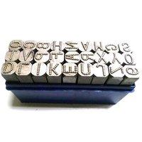 Metal Dot Alphabetical Stamps