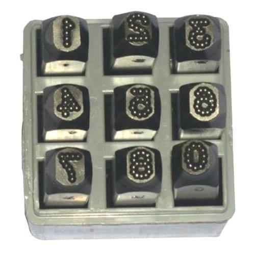 Dot Design Steel Hand Stamp Sets