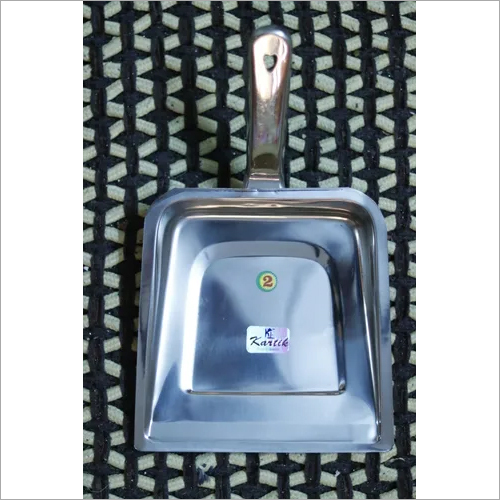 Stainless steel dustpan
