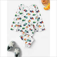 Kids Night Wear Suit Set