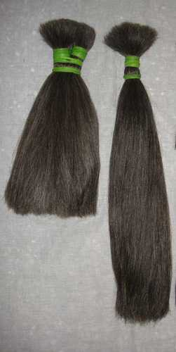 Grey Human Hair (Non Remy)
