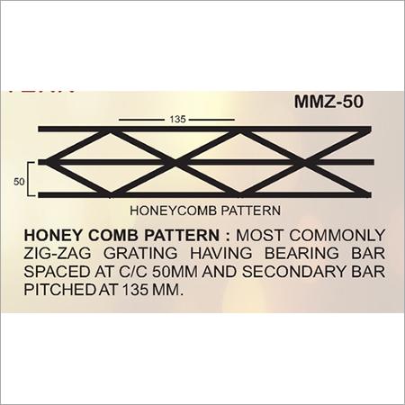 Zig Zag Pattern Metal Grating
