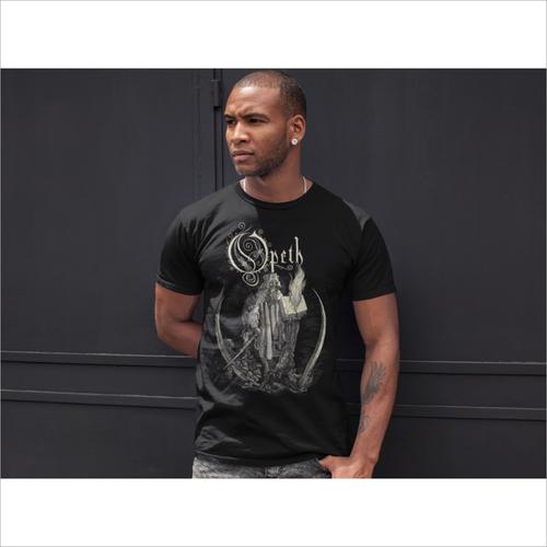 Half Sleeve Mens Graphic T Shirt