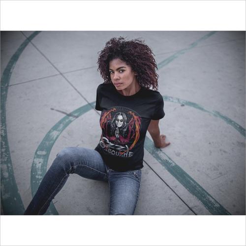 Ladies Fashion Black T Shirt