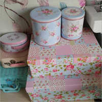 Customized Tin Packaging Container