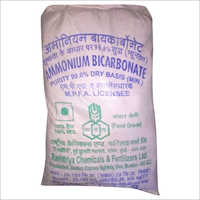 Ammonium Bicarbonate Chemical
