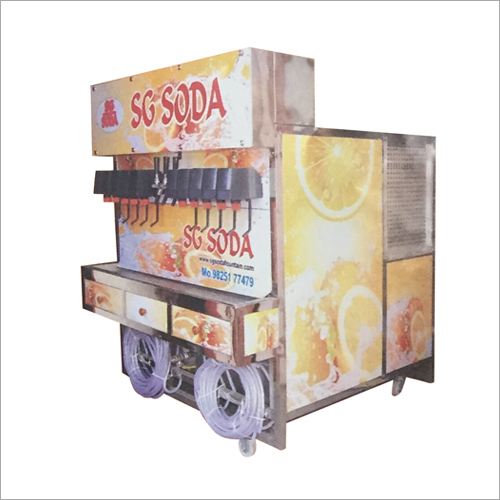 13 Flavour Soda Making Machine