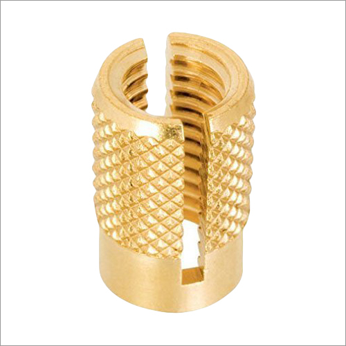 Brass Press Fit Expansion Insert