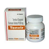 Tenvir Tenofovir disoproxil fumarate 300mg Tablets