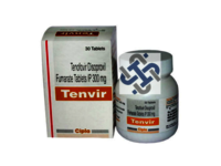 Tenvir Tenofovir disoproxil fumarate 300mg Tablets