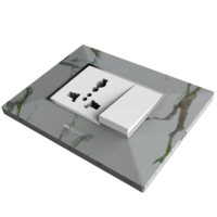 Press Fit Edge Modular Switch Plate