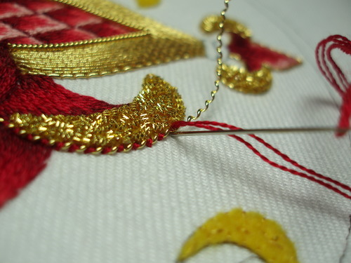 Metal Embroidery Service / Metal Embroidery Work