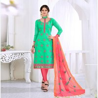Embroidered Women Dress Material