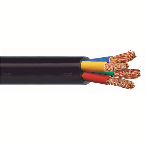 PVC Insulated Flexible Four Core Flat Cable