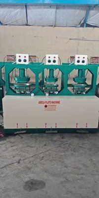 Automatic Pakku Mattai Plate Making Machine