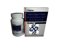 TELURA Lamivudine 300mg Tenofovir disoproxil fumarate 300mg  Efavirenz 600mg TABLETS