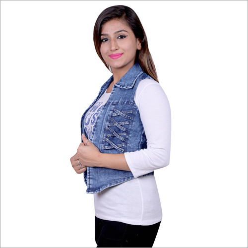 Ladies Designer Denim Jacket