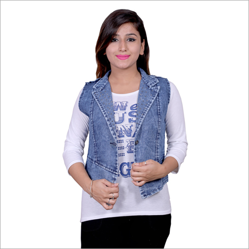 Ladies Modern Denim Jacket