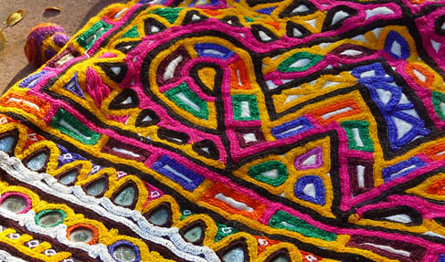 Kutch Embroidery Work / Kutch Embroidery Fabric