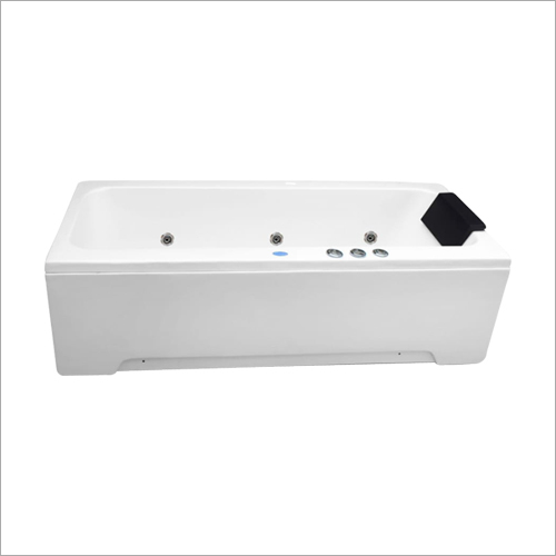 Whirlpool White Jacuzzi Bathtub