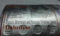 trypsin bromelain rutoside trihydrate tablets