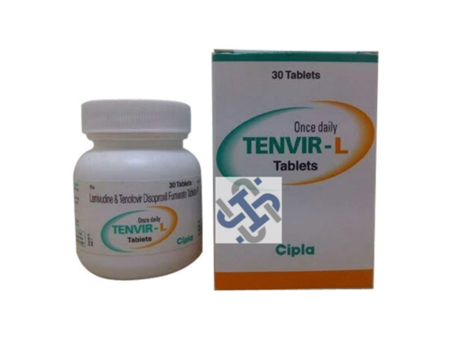 Tenvir L Lamivudine 300mg Tenofovir disoproxil fumarate 300mg Tablet