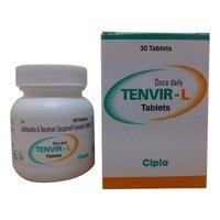 Tenvir L Lamivudine 300mg Tenofovir disoproxil fumarate 300mg Tablet
