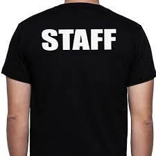 Customized Staff T-Shirt