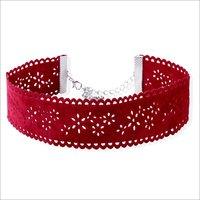 Necklaces - Kourtney Choker Red