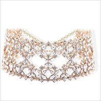 Necklaces - Abida Choker Gold