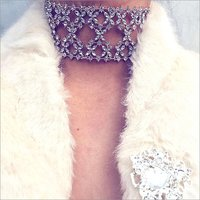 Necklaces - Abida Choker Silver