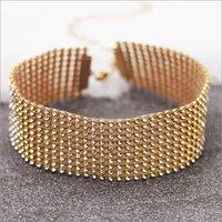 Necklaces - Gabrielle Choker Gold