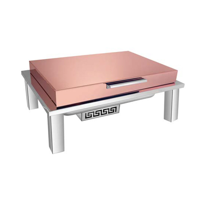 Straight Line Rose Gold Chafer