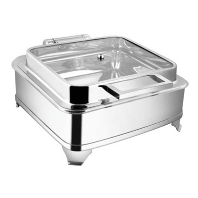 Square Full Glass Chafer With  E E Frame