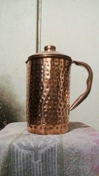 Copper Hammered Jug