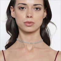 Necklaces - Lili Choker Silver