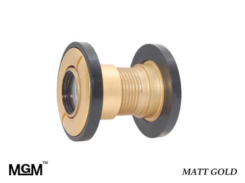 Brass Door Eye Matt Gold