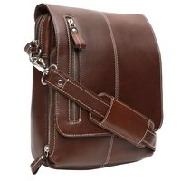 Leather Brown Messenger Bag