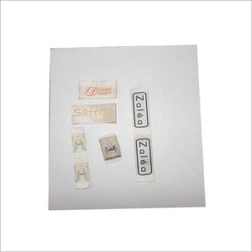 Satin Fabric Label
