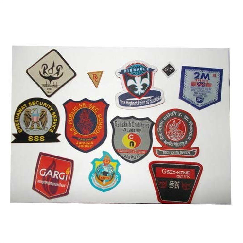 Embroidered Woven Badge