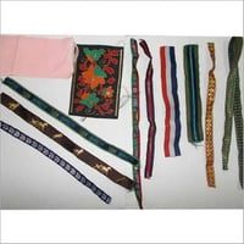 Fabric Border Laces