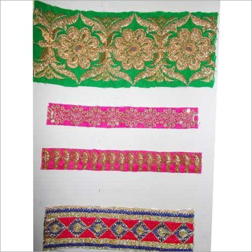 Suit Embroidered Border Designer Lace